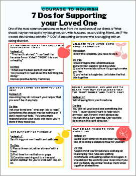 Do's and Don'ts of Supporting A Loved One