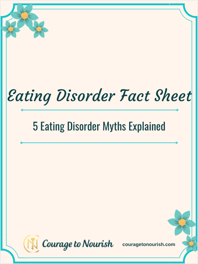 eating disorder facts and myths