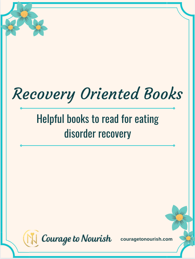 eating disorder recovery books