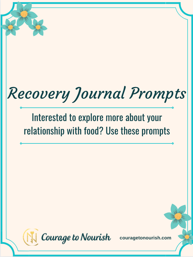 eating disorder recovery journal prompts