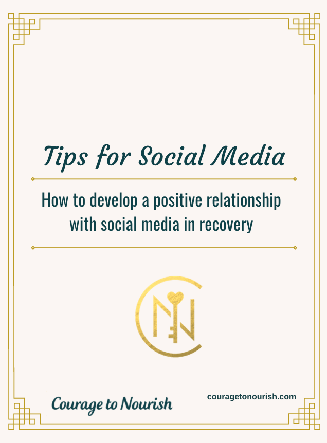 recovery social media tips